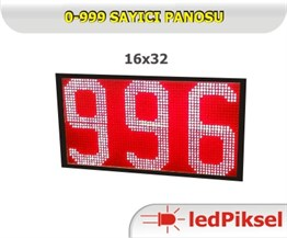 0 - 999 SAYICI LED PANO