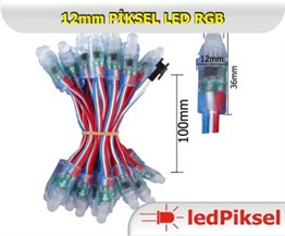12 mm Piksel Led