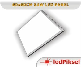 60x60 Led Panel 54W Beyaz