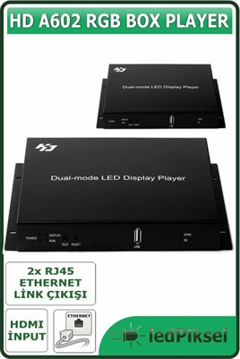 HD A602 BOX PLAYER VİDEO EKRAN KONTROL SİSTEMİ