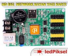 HD E62 4 SATIR NETWORK KAYAN YAZI KONTROL KARTI