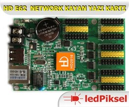 HD E63 8 SATIR NETWORK KAYAN YAZI KONTROL KARTI