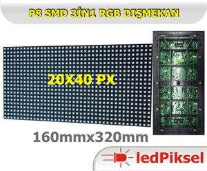 P8 RGB LED PANEL DIŞ MEKAN